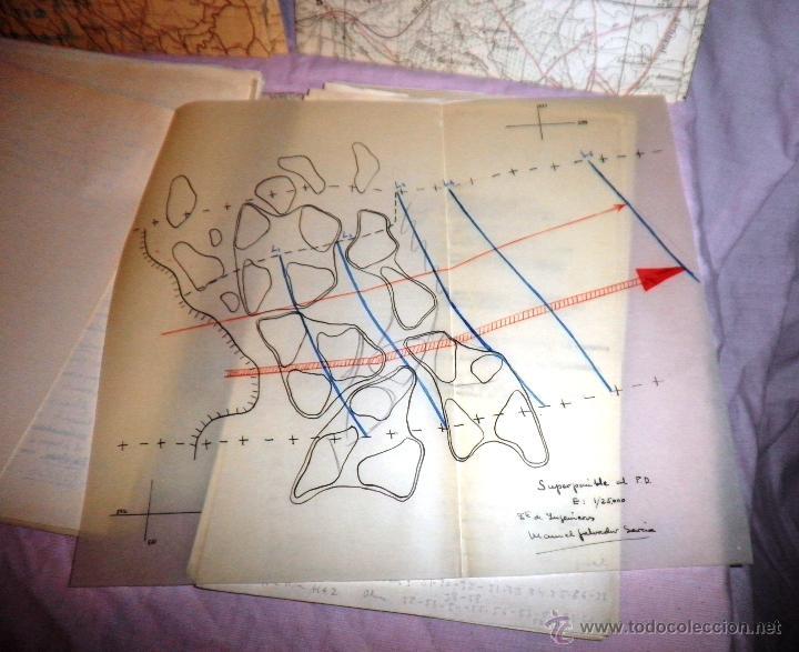 Documentos antiguos: DOCUMENTOS ESTADO MAYOR MILITAR - COMBATE OFENSIVO - AÑO 1955. - Foto 6 - 46070103