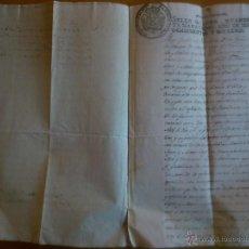Documentos antiguos: SELLO QUARTO QUARENTA MARAVEDÍS 1804. Lote 46099996