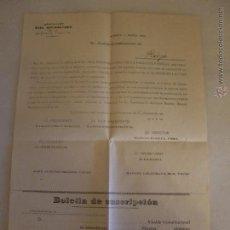 Documentos antiguos: ALMERIA CASA REFORMATORIA AÑO 1924. Lote 46390114