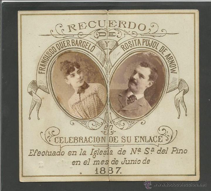 Invitacion De Boda Ano 1887 Ver Fotos V Comprar En - Ver-invitaciones-de-boda
