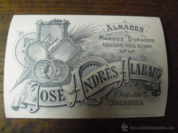antigua tarjeta visita publicidad valencia epoc - Comprar en ...