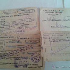 Documentos antiguos: CARTILLA ANTIGUA 1973 AFILIACION A LA SEGURIDAD SOCIAL Y ALGUN DOCUMENTO MÁS . Lote 46611544