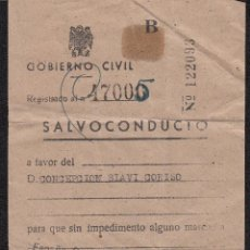 Documentos antiguos: LOTE GUERRA CIVIL 7 DOCUMENTOS (BARCELONA,BILBAO,REUS,TARRAGONA,CABRA )-. Lote 46773465