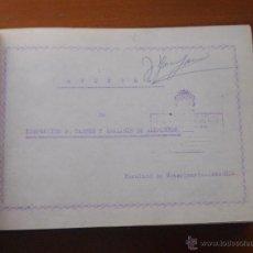 Documentos antiguos: APUNTES DE INSPECCIÓN DE CARNES Y ANÁLISIS DE ALIMENTOS, FACULTAD VETERINARIA ZARAGOZA, 372 PAG,. Lote 47058353