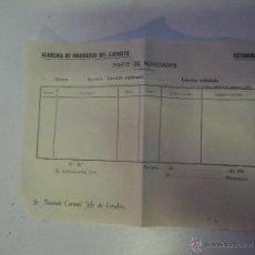 Documentos antiguos: ACADEMIA DE INGENIEROS DEL EJERCITO AÑOS 40 , SIN USO . Lote 47427680