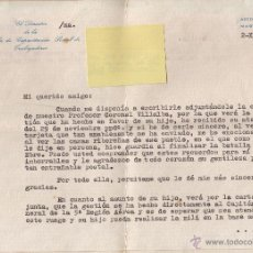 Documentos antiguos: CARTA DE RECOMENDACIÓN 1966. Lote 47433782