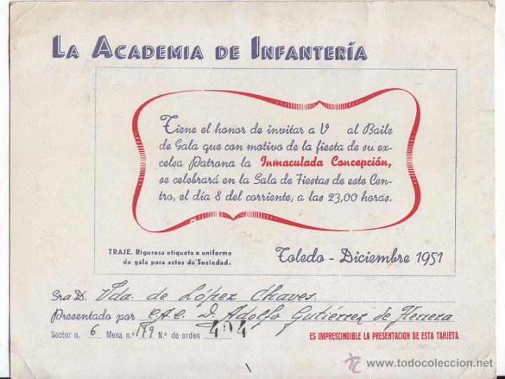 Invitación Al Baile De Gala De La Academia De I Sold