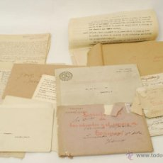 Documentos antiguos: IMPORTANTE LOTE DE DOCUMENTACIÓN PERTENECIENTE A UN CARGO MASÓN. GRANDE ORIENTE ESPAÑOL. 1927-1950.. Lote 47635392