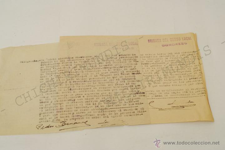 Documentos antiguos: Importante lote de Documentación perteneciente a un cargo Masón. Grande Oriente Español. 1927-1950. - Foto 2 - 47635392