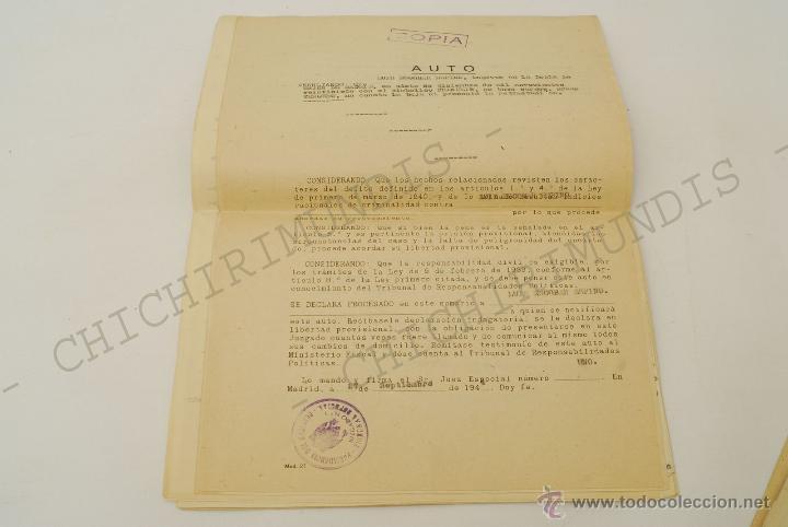 Documentos antiguos: Importante lote de Documentación perteneciente a un cargo Masón. Grande Oriente Español. 1927-1950. - Foto 3 - 47635392