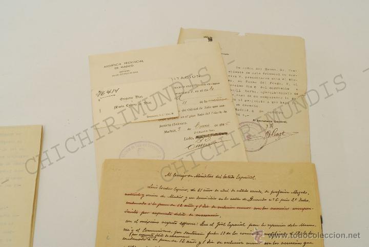 Documentos antiguos: Importante lote de Documentación perteneciente a un cargo Masón. Grande Oriente Español. 1927-1950. - Foto 4 - 47635392