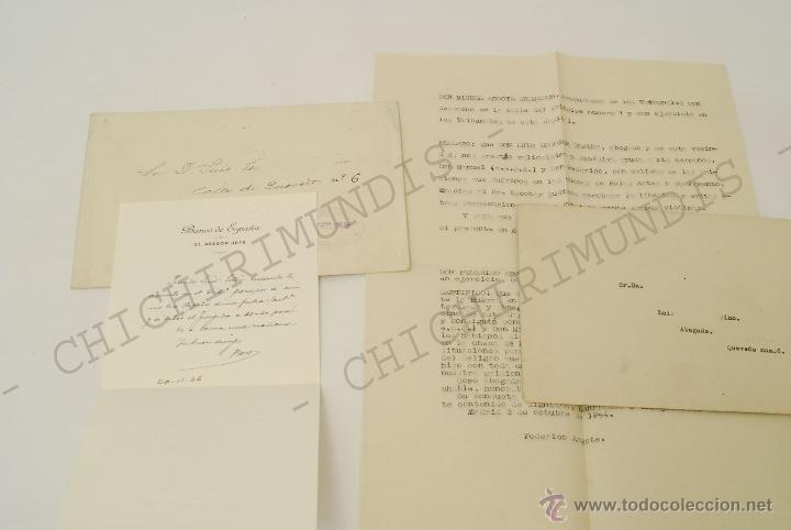 Documentos antiguos: Importante lote de Documentación perteneciente a un cargo Masón. Grande Oriente Español. 1927-1950. - Foto 5 - 47635392