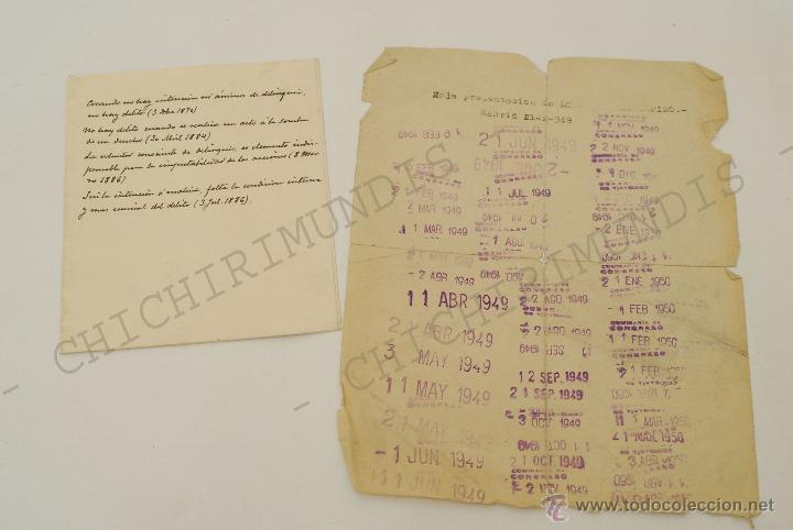 Documentos antiguos: Importante lote de Documentación perteneciente a un cargo Masón. Grande Oriente Español. 1927-1950. - Foto 6 - 47635392