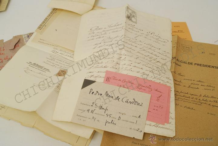 Documentos antiguos: Importante lote de Documentación perteneciente a un cargo Masón. Grande Oriente Español. 1927-1950. - Foto 15 - 47635392