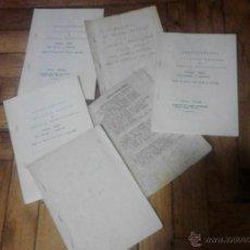 Documentos antiguos: OBRAS TEATRALES LACHIFLANOPOLIS DE CIUDAD RODRIGO VENTOSA MIROBRIGENSE Y TODO EN BROMA POR VITAL AZA. Lote 95123884