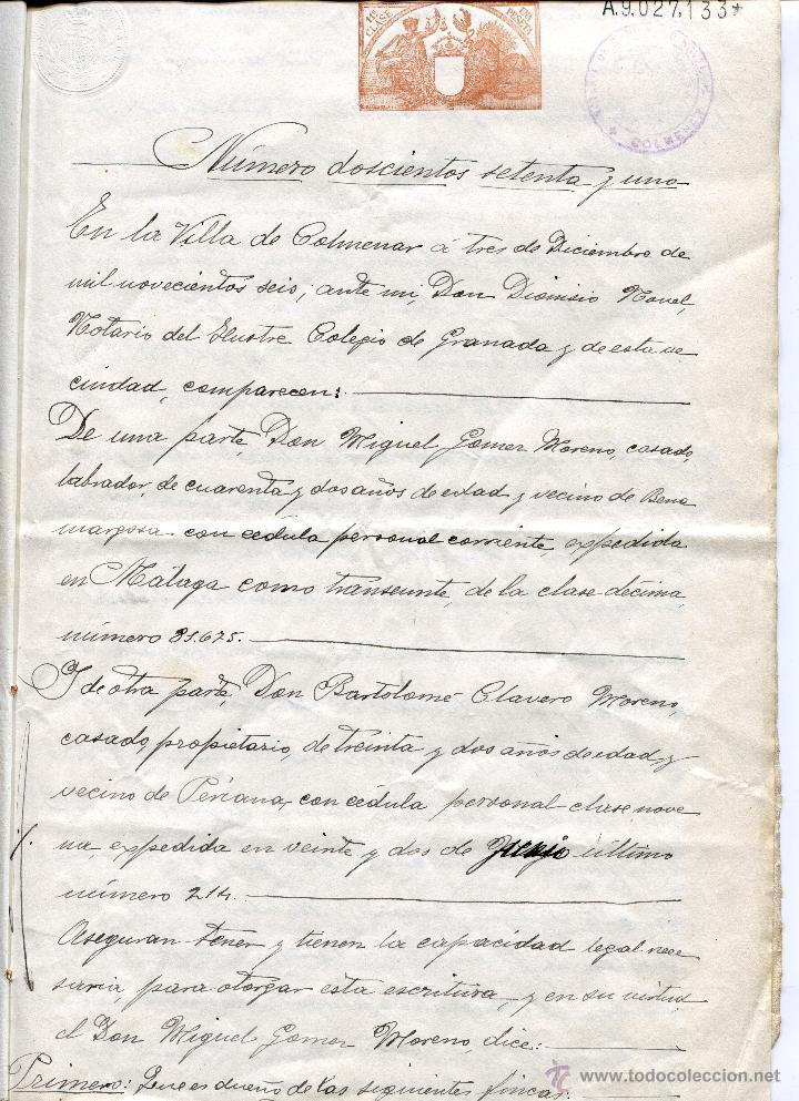 Documentos antiguos: Primera Página - Foto 2 - 47786902
