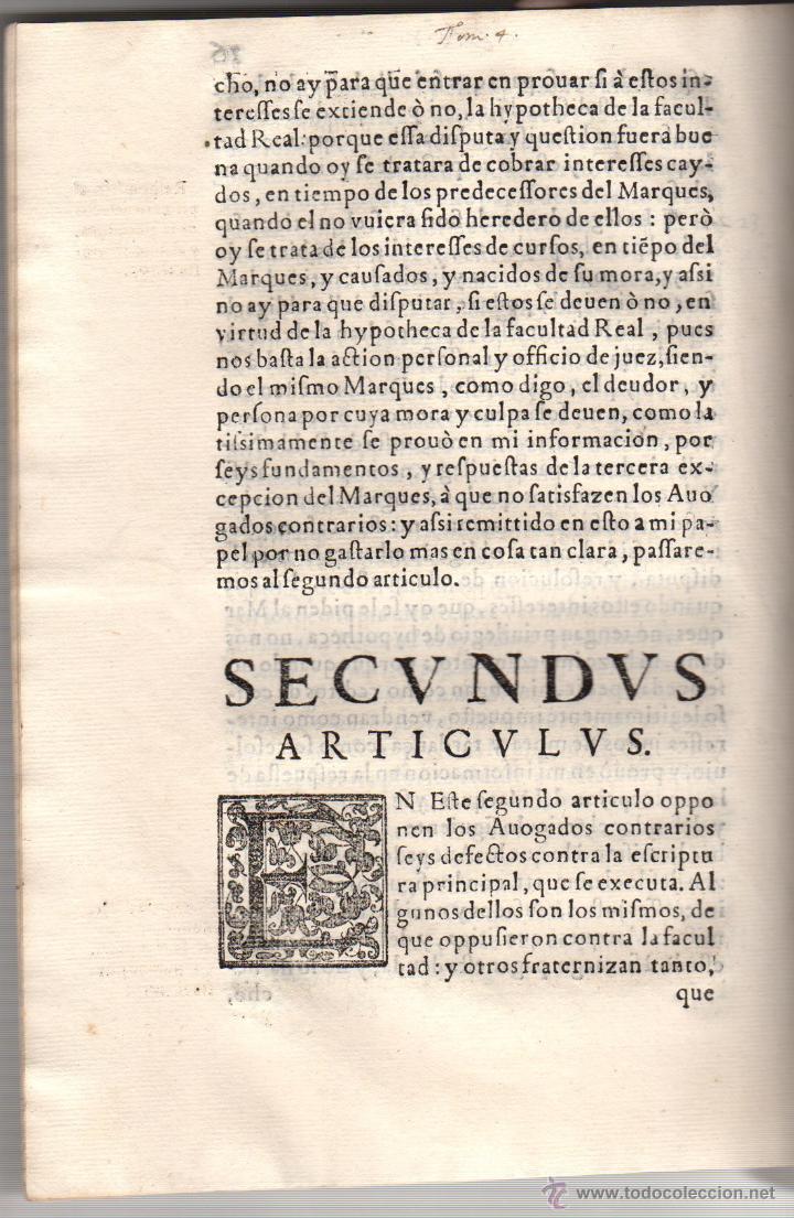 Documentos antiguos: PORCON PLEITO DEL CONDE DEL MONTIJO CONTRA EL MARQUES DE VILLENA. AÑO 1604 - Foto 3 - 47920485