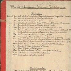Documentos antiguos: VILLAREJO DE SALVANÉS-TIELMES-VALDELAGUNA 1849-1892. Lote 48334707