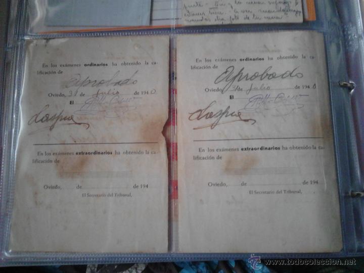 Documentos antiguos: PAPELETAS DE EXAMEN ESCUELA NORMAL DEL MAGISTERIO PRIMARIO DE OVIEDO ASIGNATURA LABORES 1939/40 - Foto 2 - 48438341