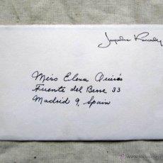 Documentos antiguos: CARTA DE AGRADECIMIENTO ORIGINAL DE JACQUELINE KENNEDY. Lote 48455932