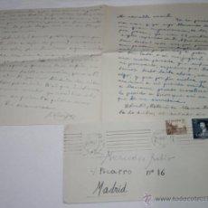Documentos antiguos: CARTA DE UN SOLDADO DESDE CARTAGENA A SU NOVIA EN 1954 - 4ª. Lote 48561570