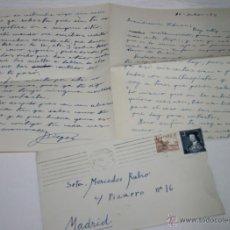 Documentos antiguos: CARTA DE UN SOLDADO DESDE CARTAGENA A SU NOVIA EN 1954 - 5ª. Lote 48561577
