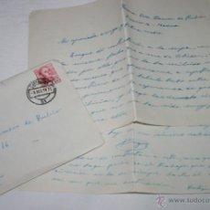 Documentos antiguos: CARTA DE UN SOLDADO DESDE EL BUQUE DRAGAMINAS LLOBREGAT EN CARTAGENA A SU NOVIA EN 1954 - 41ª. Lote 48564045