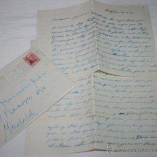 Documentos antiguos: CARTA DE UN SOLDADO DESDE EL BUQUE DRAGAMINAS LLOBREGAT EN CARTAGENA A SU NOVIA EN 1954 - 42ª. Lote 48564046
