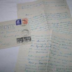 Documentos antiguos: CARTA DE UN SOLDADO DESDE EL BUQUE DRAGAMINAS LLOBREGAT EN SAN FERNANDO CADIZ A SU NOVIA EN 1954, 5ª. Lote 48564049