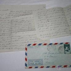 Documentos antiguos: CARTA DE UN SOLDADO DESDE EL BUQUE DRAGAMINAS LLOBREGAT EN SOLLER MALLORCA A SU NOVIA EN 1955 - 36ª. Lote 48564721
