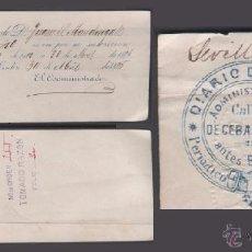 Documentos antiguos: F6-12 DIARIO DE CADIZ-PERIODICO POLÍTICO-AÑO 1886 RECIBO DE SUBSCRIPCIÓN DE D. JUAN S. MAUDINGALL. Lote 48920164