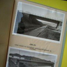 Documentos antiguos: PALENCIA - 1959 - LA NAVA DE CAMPOS - DOSSIER CON FOTOGRAFIAS DEL CONGRESO DE IRRIGACIÓN . Lote 49105565