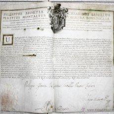 Documentos antiguos: RECOMENDACION Y NOMBRAMIENTO PRESBITERO. CATEDRAL DE SEVILLA. AÑO 1751. Lote 49178212