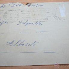 Documentos antiguos: SOBRE DE UNA CARTA ENVIADA DESDE EL CAMPAMENTO GENERAL ASENSIO DE PALMA DE MALLORCA EN 1964. Lote 49539129