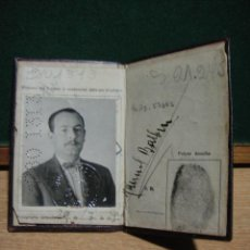 Documentos antiguos: REPUBLICA ARGENTINA - BUENOS AIRES - CEDULA DE IDENTIDAD. Lote 49773679