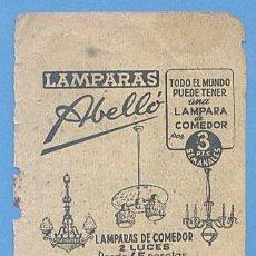 Documentos antiguos: RECORTE PUBLICIDAD LAMPARAS ABELLO. PALMA MALLORCA. 11,5 X 7,5 CM. AÑO 1951.. Lote 49932038