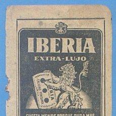 Documentos antiguos: RECORTE PUBLICIDAD HOJAS IBERIA. CUCHILLAS AFEITAR. PALMA MALLORCA. 11,5 X 7,5 CM. AÑO 1951. Lote 49932067