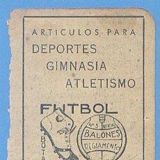 Documentos antiguos: RECORTE PUBLICIDAD SUMINISTROS FRAU ARTICULOS DEPORTIVOS. PALMA MALLORCA 11,5 X 7,5 CM. AÑO 1951.. Lote 49932074