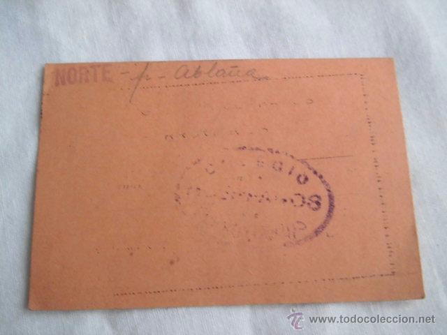 Documentos antiguos: COLEGIO DE HUERFANOS DE FERROVIARIOS TITULO DE SOCIO MADRID 1932 - Foto 2 - 49945538