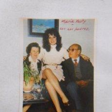 Documentos antiguos: RECORTE DE REVISTA MARIA KOSTY. TDKP3 . Lote 50257216