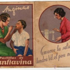Documentos antigos: BAYER TABLA PESO FARMACIA 1939. Lote 51200494