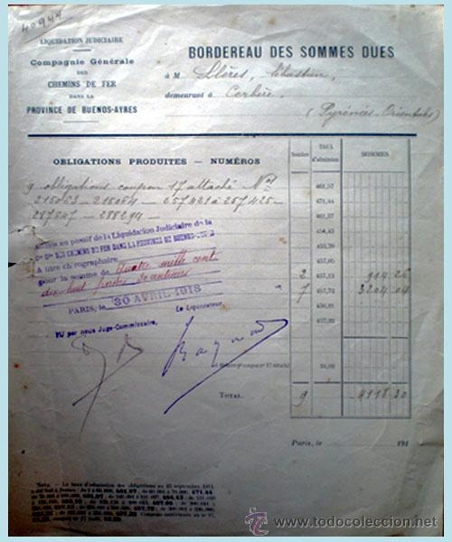Documentos antiguos: Documento interior de Liquidacion - Foto 2 - 51611426
