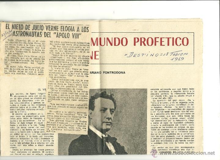 Documentos antiguos: 2123.- DE LA TIERRA A LA LUNA -ALREDEDOR DE LA LUNA -JULIO VERNE - Foto 3 - 51764088