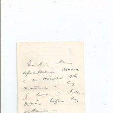 Documentos antiguos: 24-2-1917 - CARTA DEL CONDE DE ROMANONES A EDUARDO DATO - POLÍTICA. Lote 51807339