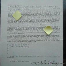 carta adolfo suarez ucd transicion democratica politica votar congreso diputados elecciones bilbao