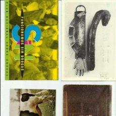Documentos antiguos: LOTE DE 4 TARJETAS POSTALES PUBLICITARIAS ANTIGUAS *OPORTUNIDAD*. Lote 52459725