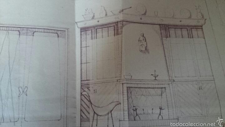 Documentos antiguos: PLANO CASA PROPIEDAD RAIMUNDO PAYA, IBI, 1959, PAYA HERMANOS - Foto 3 - 52610266