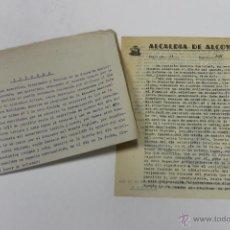 Documentos antiguos: ALCALDIA DE ALCOY ALCOY 1940, ALICANTE. Lote 52625511