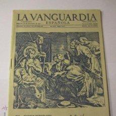Documentos antiguos: FELICITACION EL REPARTIDOR DE LA VANGUARDIA ESPAÑOLA AÑO 1958 COCA COLA EL CASERIO CORBERO. Lote 52663207