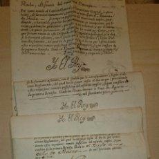 Documentos antiguos: 1746-1793 - CARRERA MILITAR Y TESTAMENTOS - RADA - TUDELA NAVARRA - FIRMA REAL (12) - 19 DOCUMENTOS. Lote 52691282
